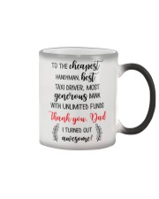 Thank Dad I Turned Out Awesome Color Changing Mug thumbnail