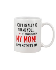 Not Really Thank Mug front
