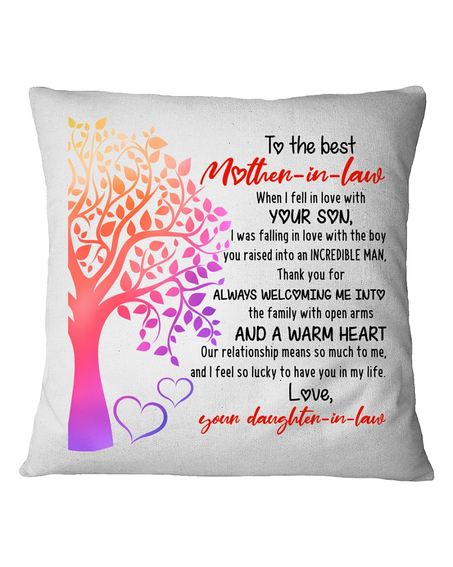 Best Mother-in-law Square Pillowcase
