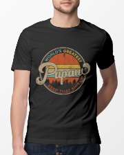 World's Greatest Papaw Keep Up Classic T-Shirt lifestyle-mens-crewneck-front-13