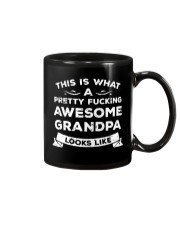 Pretty Freaking Awesome Grandpa Looks Like Mug tile