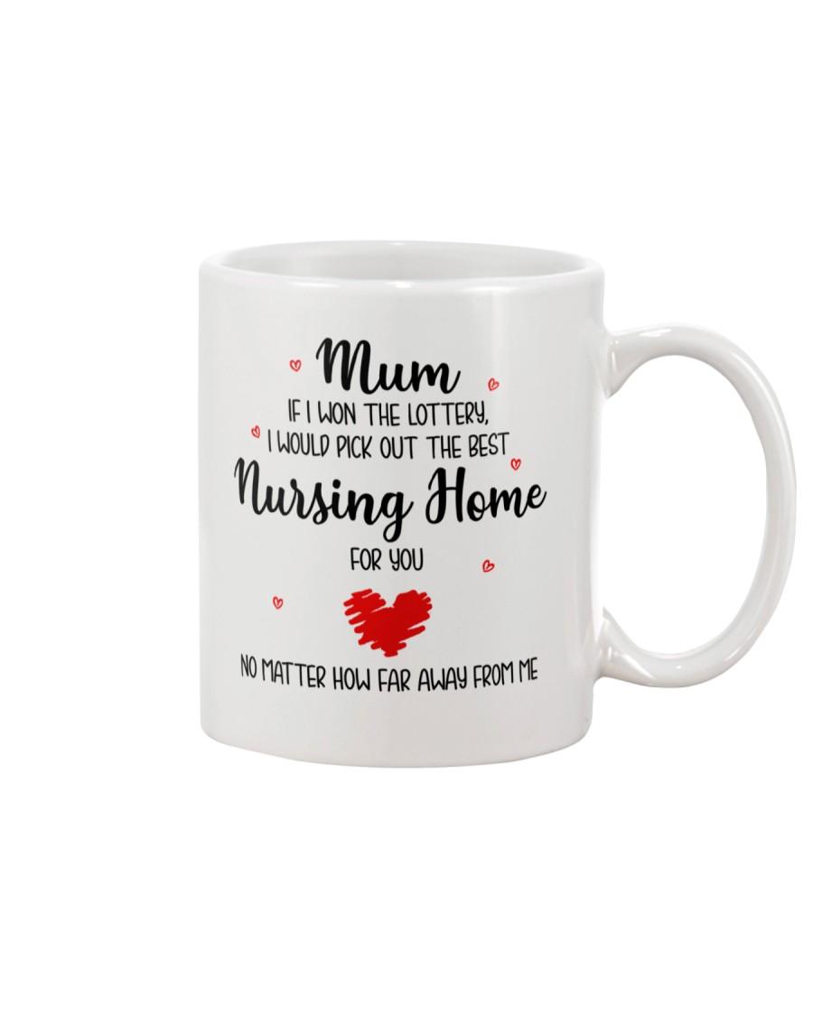 Won Lottery Best Nursing Home Mug