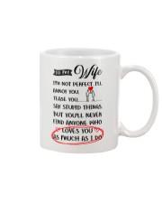 I'm Not A Perfect Husband Mug front