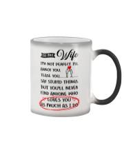 I'm Not A Perfect Husband Color Changing Mug thumbnail