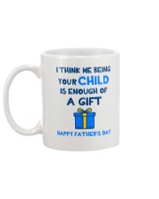 Being Your Child Is Enough Australia Mug back