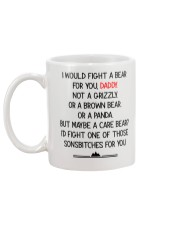 Fight A Bear For You Mug back