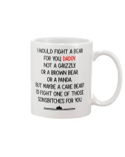 Fight A Bear For You Mug front