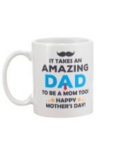 Amazing Dad To Mom Mug back