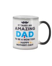 Amazing Dad To Mom Color Changing Mug thumbnail