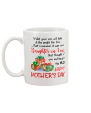 While Your Son Take Credit Mug back