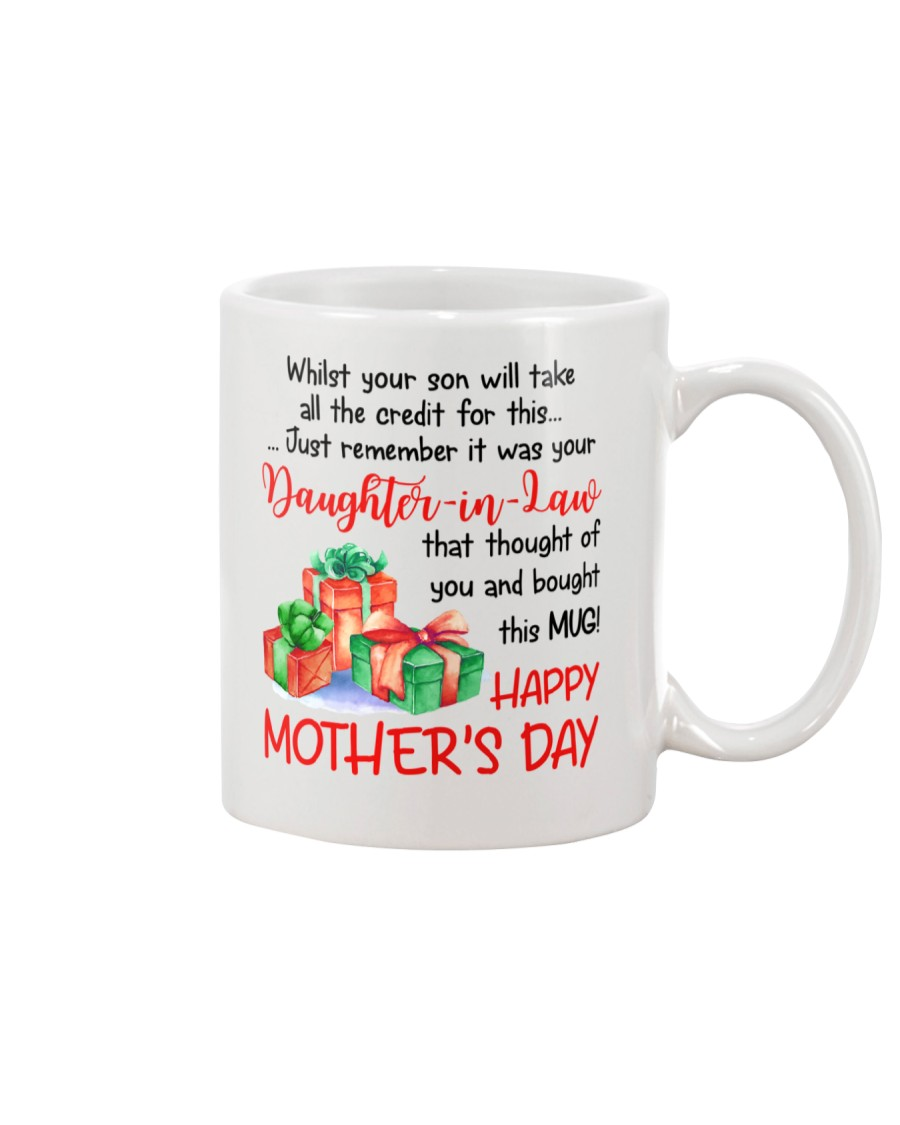 While Your Son Take Credit Mug