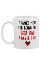 Mom Best Dad Never Had Mug back