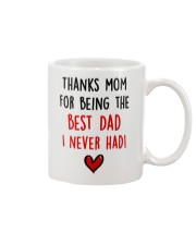 Mom Best Dad Never Had Mug tile
