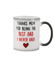 Mom Best Dad Never Had Color Changing Mug tile