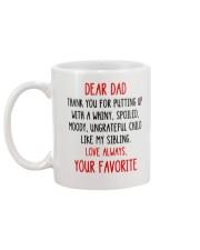Ungrateful Child Like My Sibling Mug back