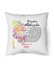 """To My Future Mother-in-law Pillow Indoor Pillow - 16"""" x 16"""" thumbnail"""