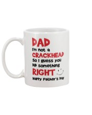 Not A Crackhead Mug back