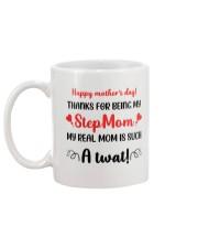 Thank For Being My Stepmom Mug back