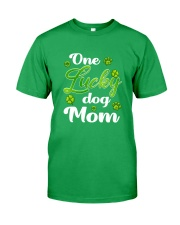 One Lucky Dog Mom  Classic T-Shirt front