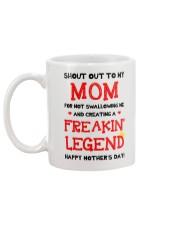 Shout Out To Mom  Mug back