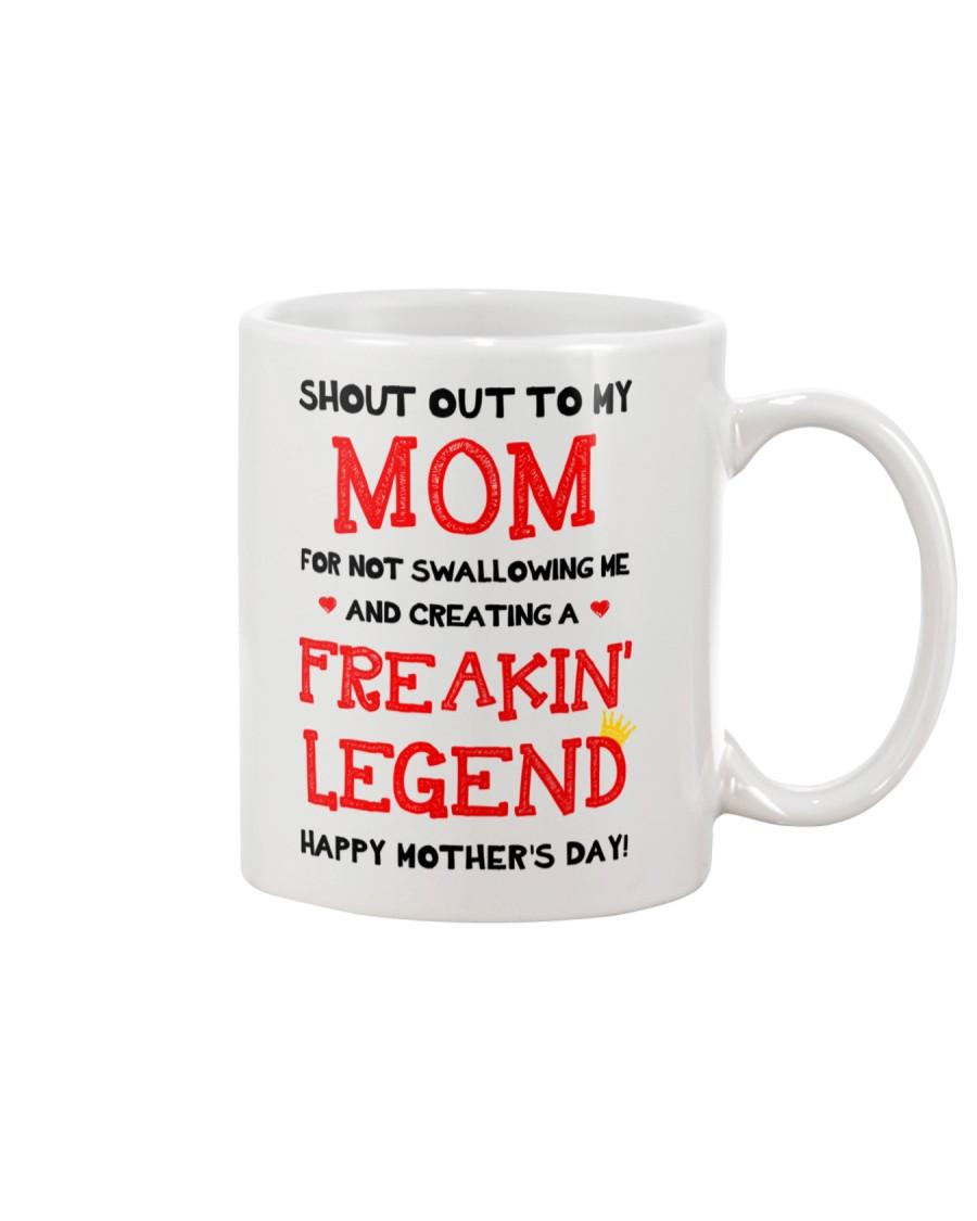 Shout Out To Mom  Mug