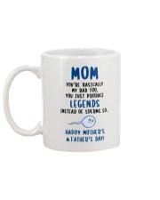 Produce Legends Instead Of Sperm Mug back