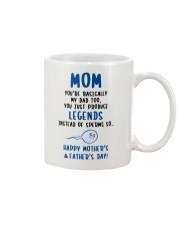 Produce Legends Instead Of Sperm Mug front