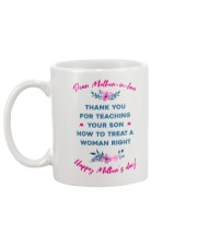 Treat A Woman Right Mug back