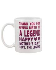 Giving Birth To A Legend Mug back