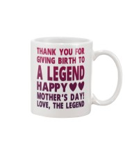 Giving Birth To A Legend Mug front