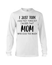 DNA test crazy mom cuss Long Sleeve Tee thumbnail