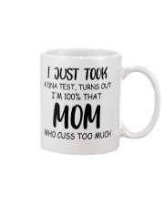 DNA test crazy mom cuss Mug thumbnail