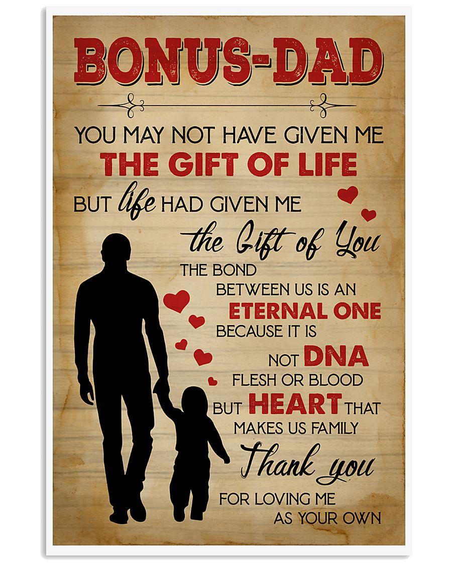 You may not have given me the gift of life 11x17 Poster