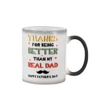Better Than My Real Dad Color Changing Mug thumbnail