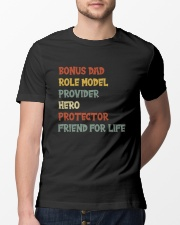 Bonus Dad Hero Classic T-Shirt lifestyle-mens-crewneck-front-13