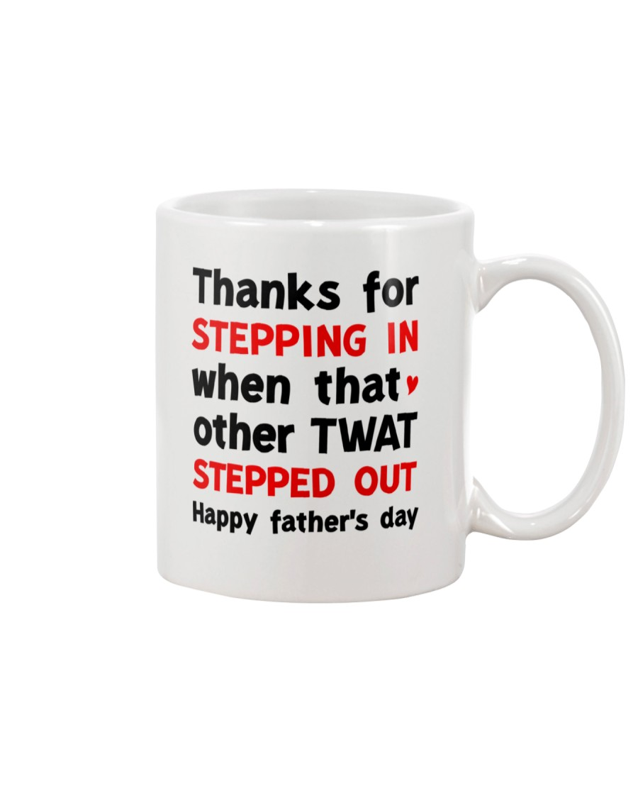 Stepdad Thanks For Stepping In AUS Mug