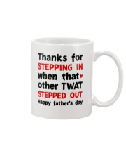 Stepdad Thanks For Stepping In AUS Mug front