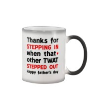 Stepdad Thanks For Stepping In AUS Color Changing Mug thumbnail