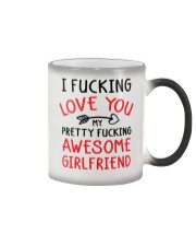 Love Awesome Girlfriend Color Changing Mug thumbnail