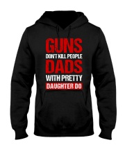 Dads With Pretty Daughter Hooded Sweatshirt thumbnail