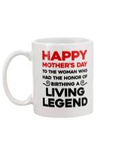 Honor Birthday A Living Legend Mug back