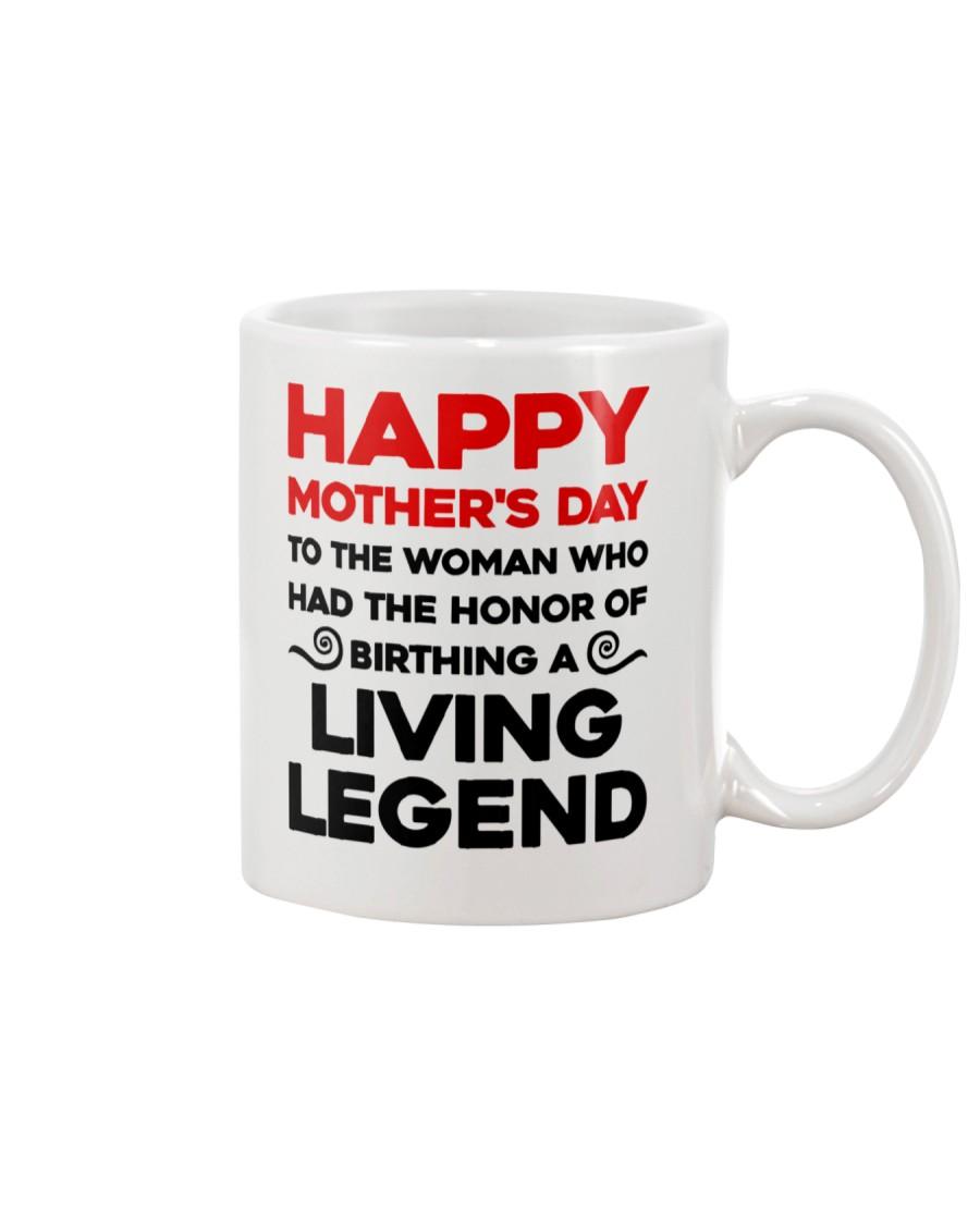 Honor Birthday A Living Legend Mug