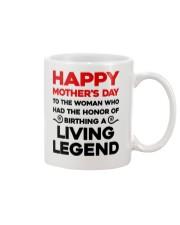 Honor Birthday A Living Legend Mug front
