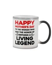 Honor Birthday A Living Legend Color Changing Mug thumbnail