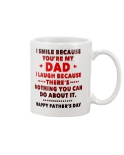 I Smile Because You're My Dad Mug front