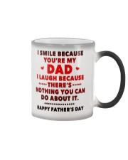 I Smile Because You're My Dad Color Changing Mug thumbnail