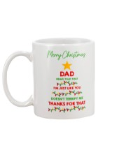 Just Like Your Dad Mug back