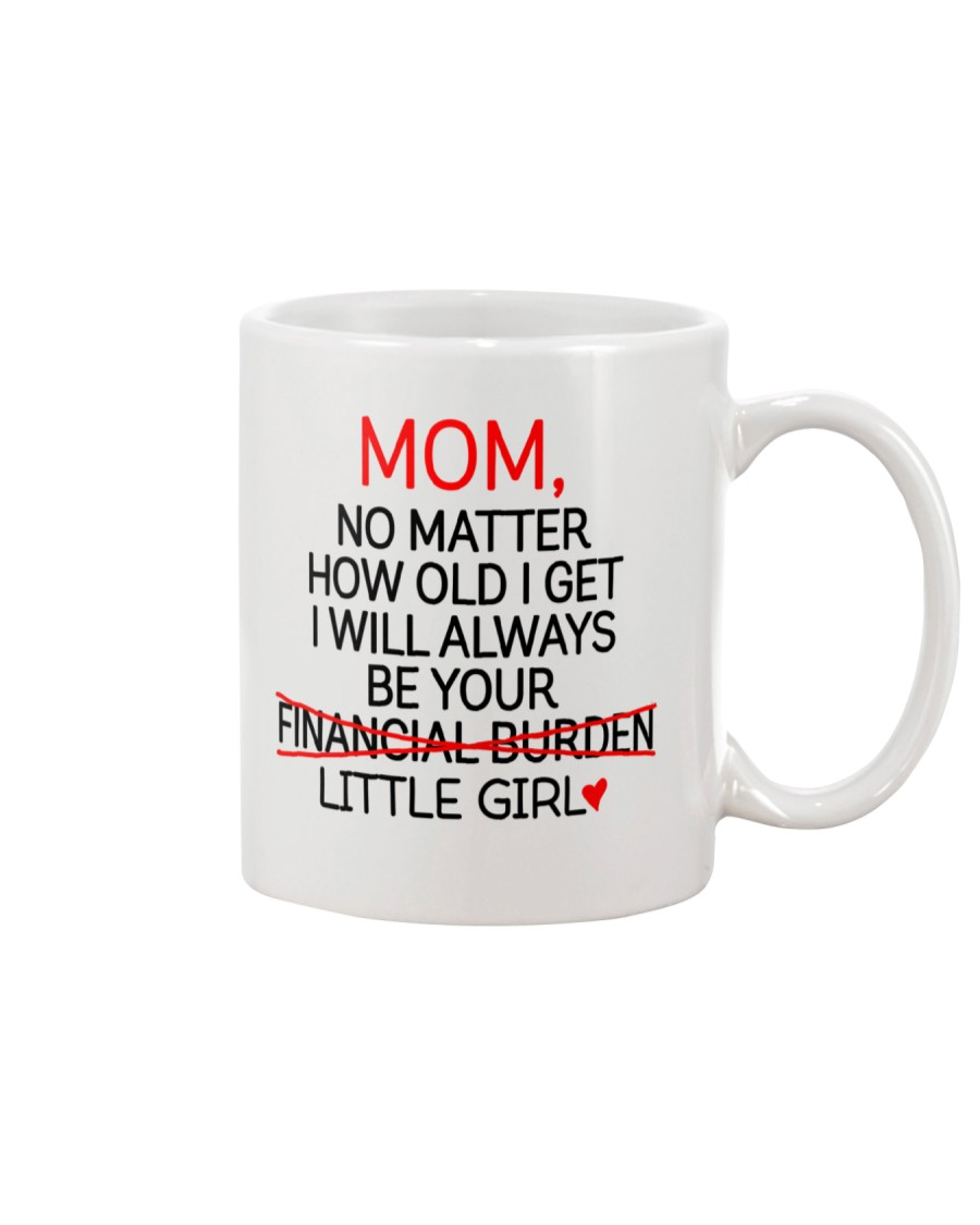 Little Girl Financial Burden  Mug