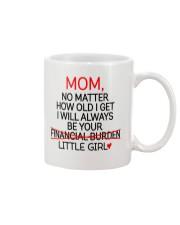 Little Girl Financial Burden  Mug front