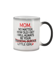 Little Girl Financial Burden  Color Changing Mug thumbnail